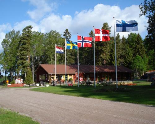 Camping and parking for caravans and motor homes in Gävle and Gästrikland - Hedesunda camping